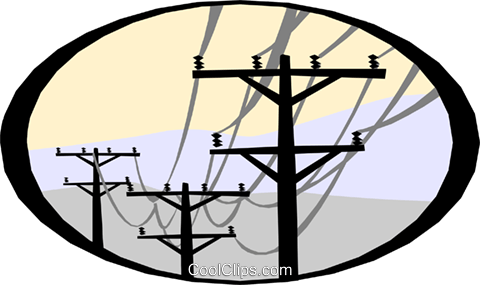electrical energy Royalty Free Vector Clip Art illustration.