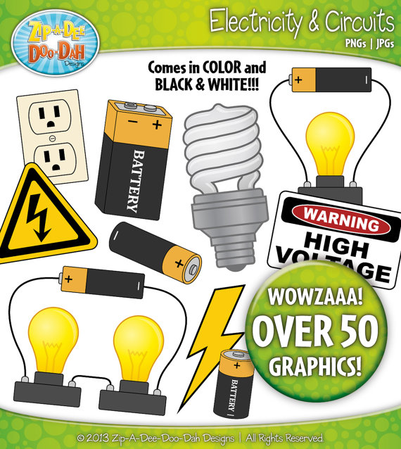 Electrical Energy Clip Art.