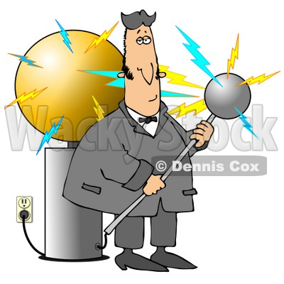Electrical Engineer Clipart.