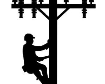 lineman decal on Etsy, a global handmade and vintage.
