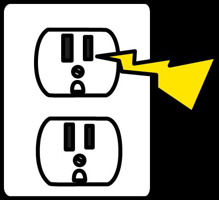 Electrical Zap Clip Art.