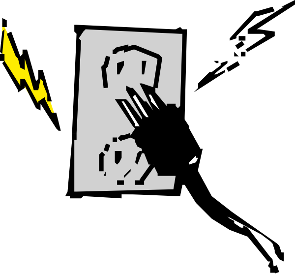 Clip Art Power Socket Clipart.