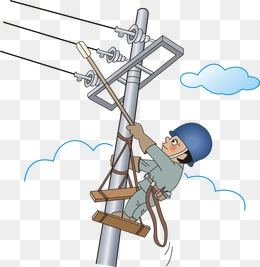 Electricity Safety Clipart.