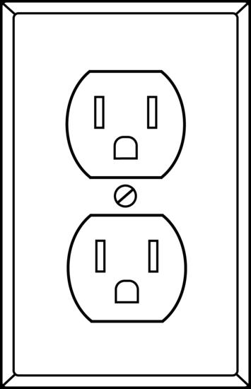 Electrical Socket Outline.