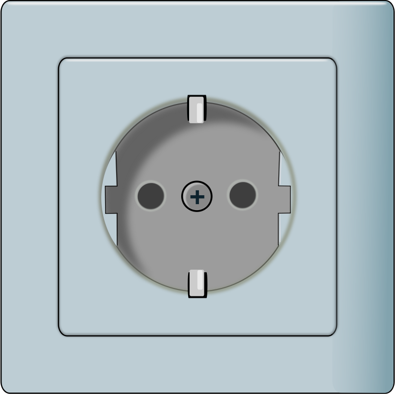 Free to Use & Public Domain Power Socket Clip Art.