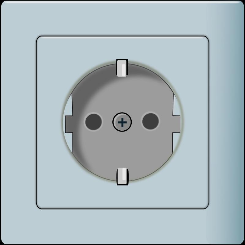 Free to Use & Public Domain Power Socket Clip Art.
