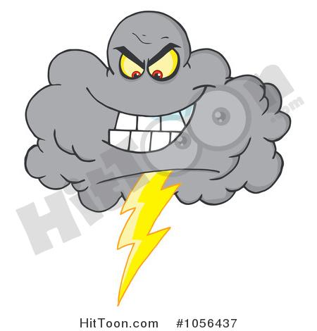 Lightning Storm Clipart #1.