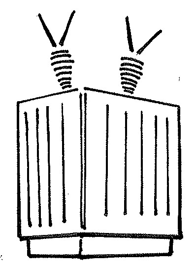 Power Transformer Clipart.