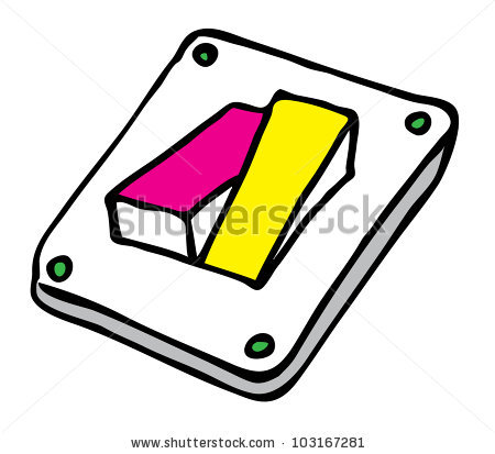 Bookworm Come Out Book Over White Stock Illustration 53477023.
