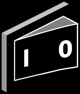 Electrical Switch medium 600pixel clipart, vector clip art.