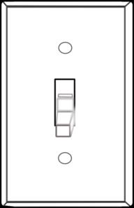Light Switch Off Clip Art at Clker.com.