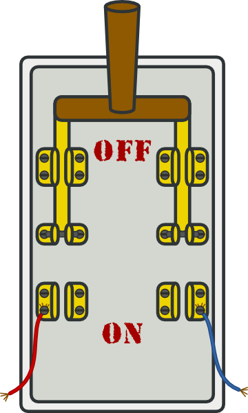 Electrical Power Shut Off Clipart.