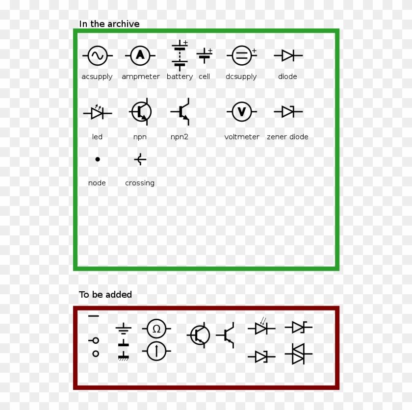 Iec Electronic Circuit Symbols.