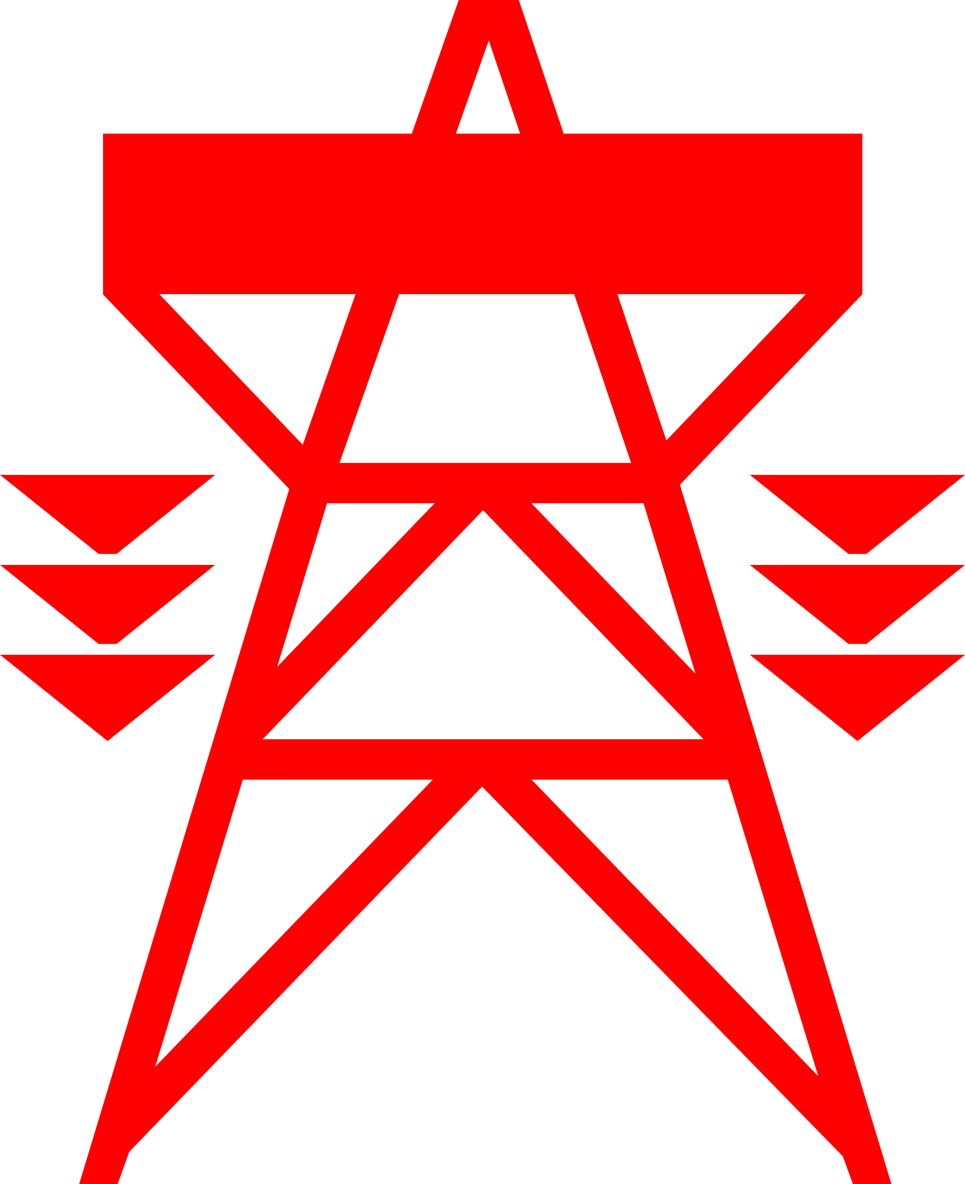 Transmission tower clipart.