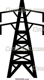 Electrical Tower Clipart.
