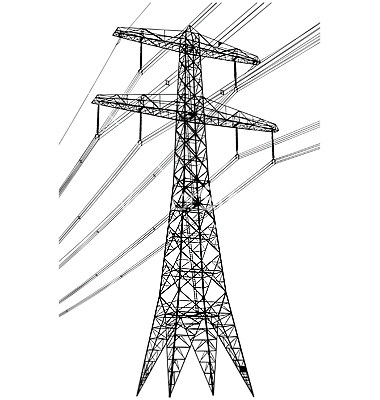 Electrical Tower Clip Art.