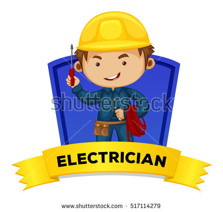 Clipart Electrician Illustration Stock Photos, Royalty.