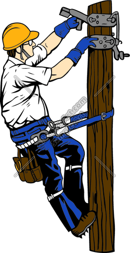 Electrician Clipart.
