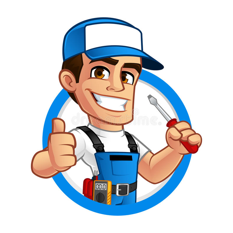 Electrician Stock Illustrations.