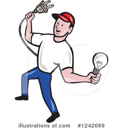 Electrician Clipart #1242089.
