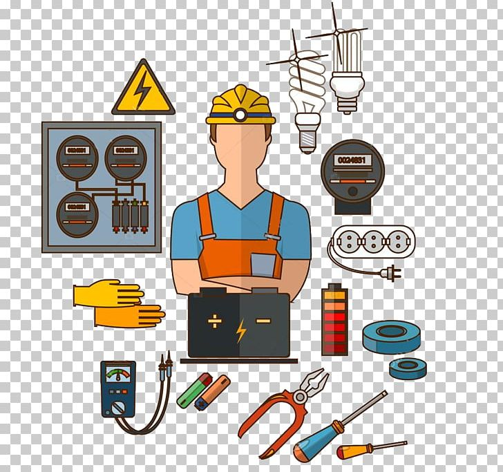 Electrician Electricity Electrical Engineering PNG, Clipart, Ac.