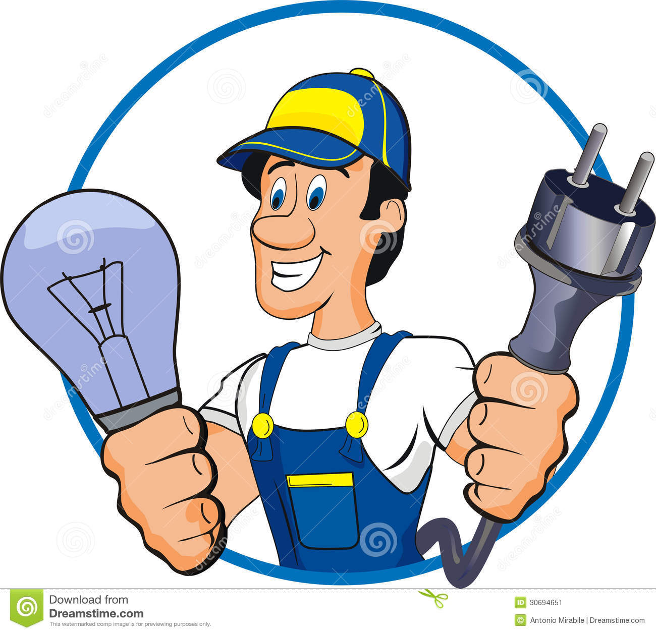 Electrician clipart professional 1 » Clipart Station.