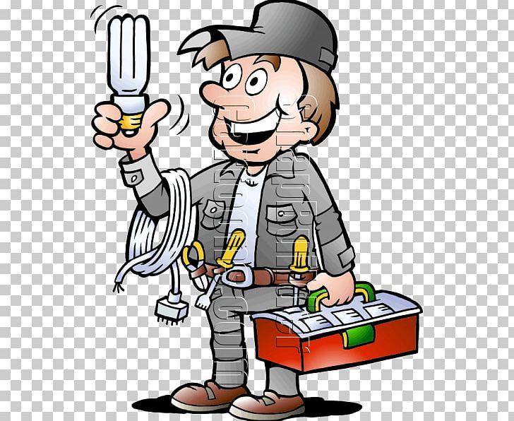 Electrician Electricity Cartoon PNG, Clipart, Cartoon, Cartoon Chara.