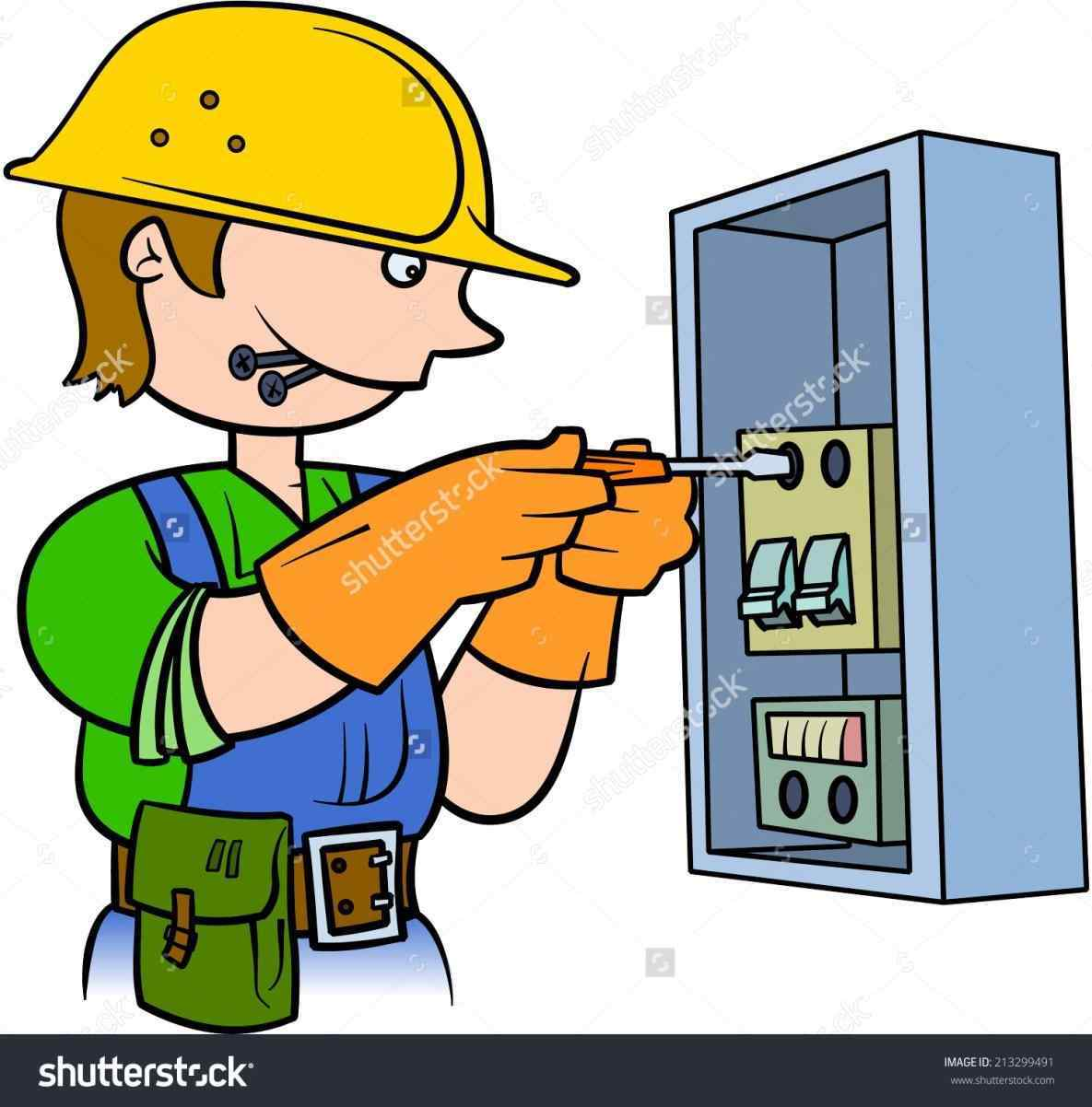 Electricians clipart » Clipart Station.