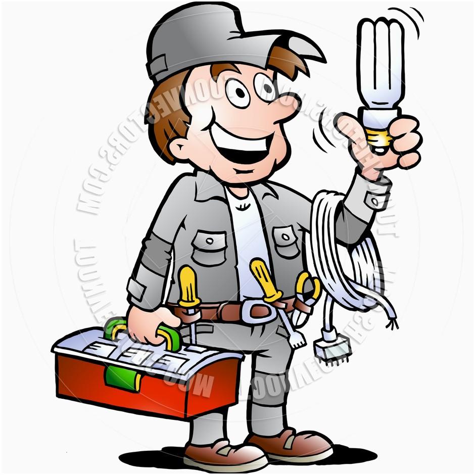 Electrician clipart electrical hazard, Electrician electrical hazard.