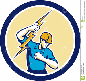 Clipart Of Electrician.