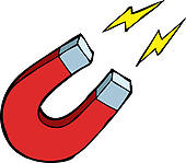 Electricity And Magnetism Clipart.