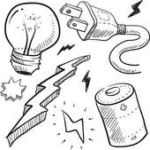 Electricity clipart black and white, Electricity black and.