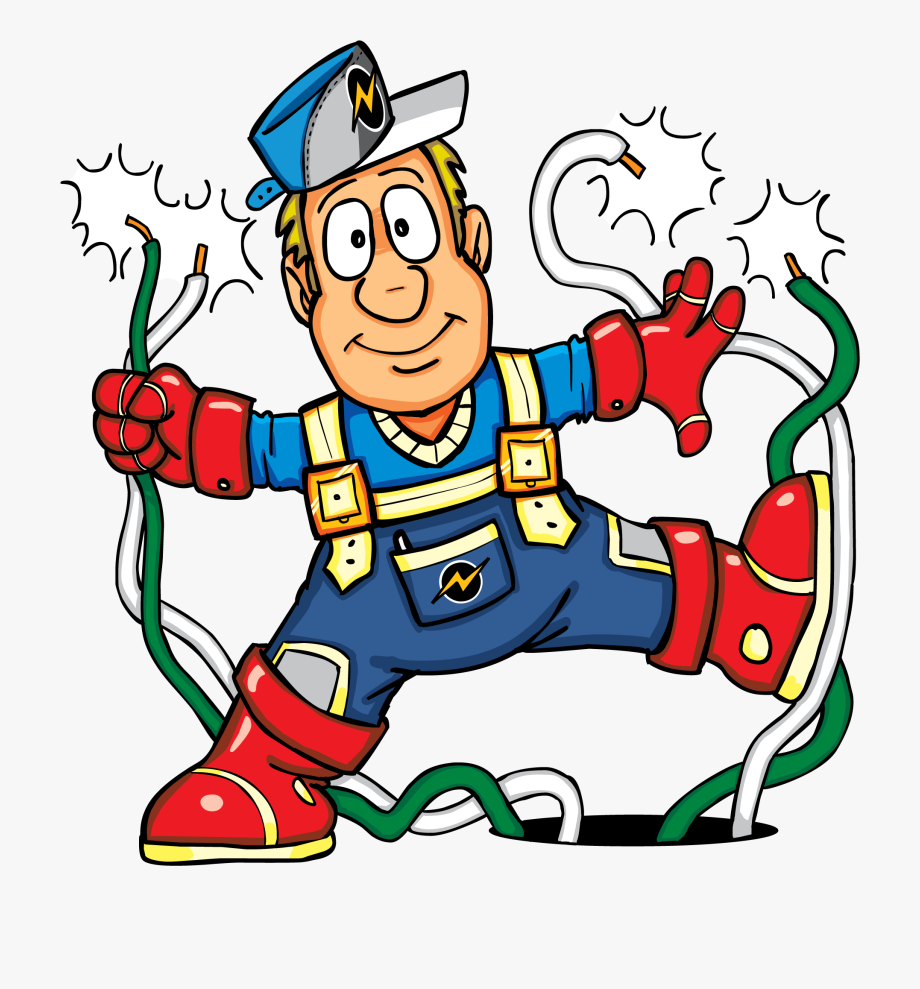 Electricity Clipart Kid.