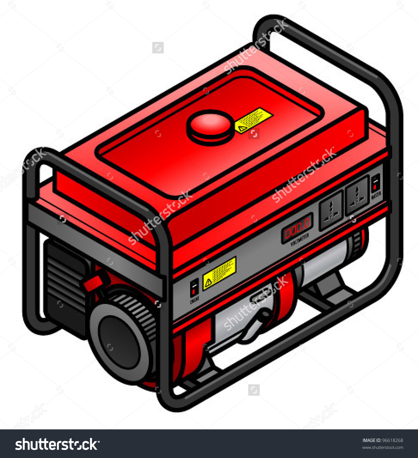 Power generator clip art.