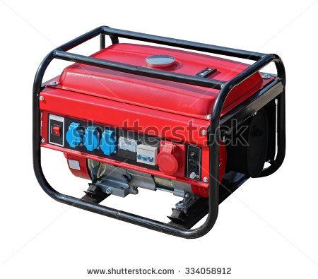 Portable Power Generator Stock Photos, Royalty.