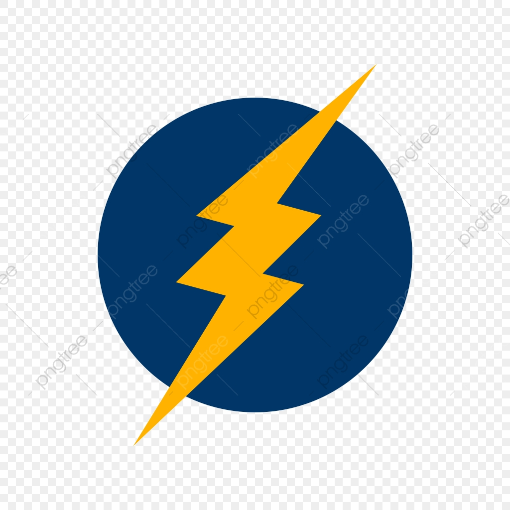 Electric Shock Vector Icon, Electricity Icon, Electric Shock Icon.