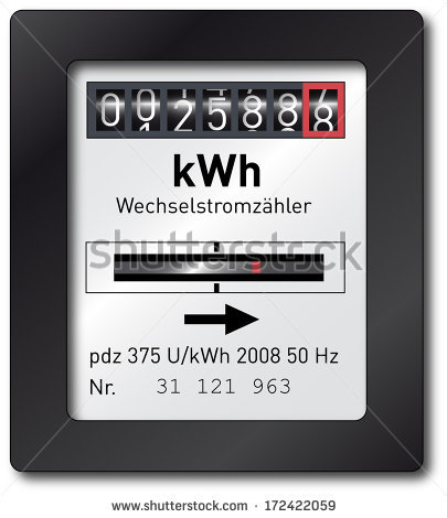 Electric Meter Stock Images, Royalty.