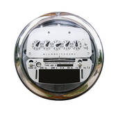 Stock Photography of Electric Meter with Clipping Path k1895590.