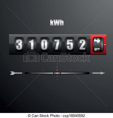 Electric meter Vector Clipart EPS Images. 884 Electric meter clip.