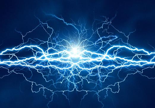 Lightning,Thunder,Blue,Sky,Thunderstorm,Electric blue,Water.