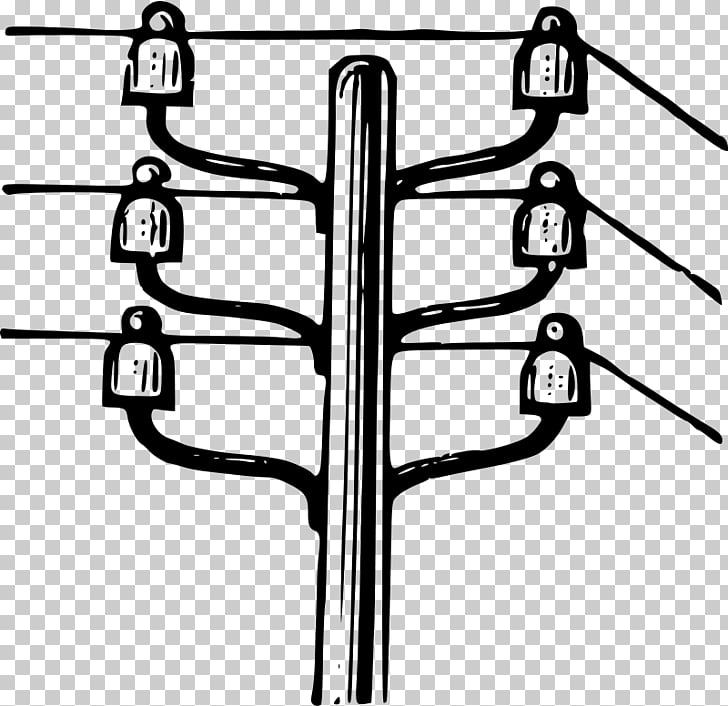 Utility pole Electricity Overhead power line Electric power.