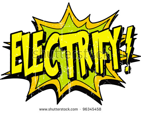Electrify Stock Vector Illustration 96345458 : Shutterstock.