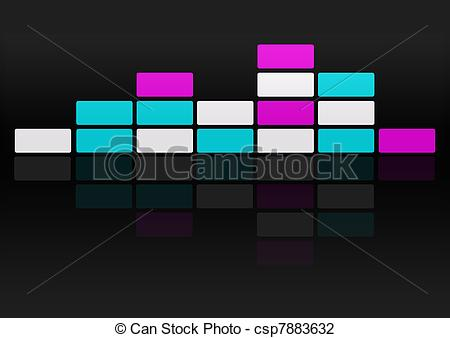 Clip Art of electro background.