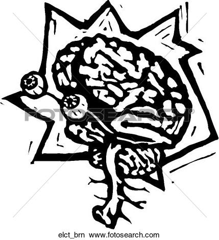 Clipart of Electro Brain elct_brn.