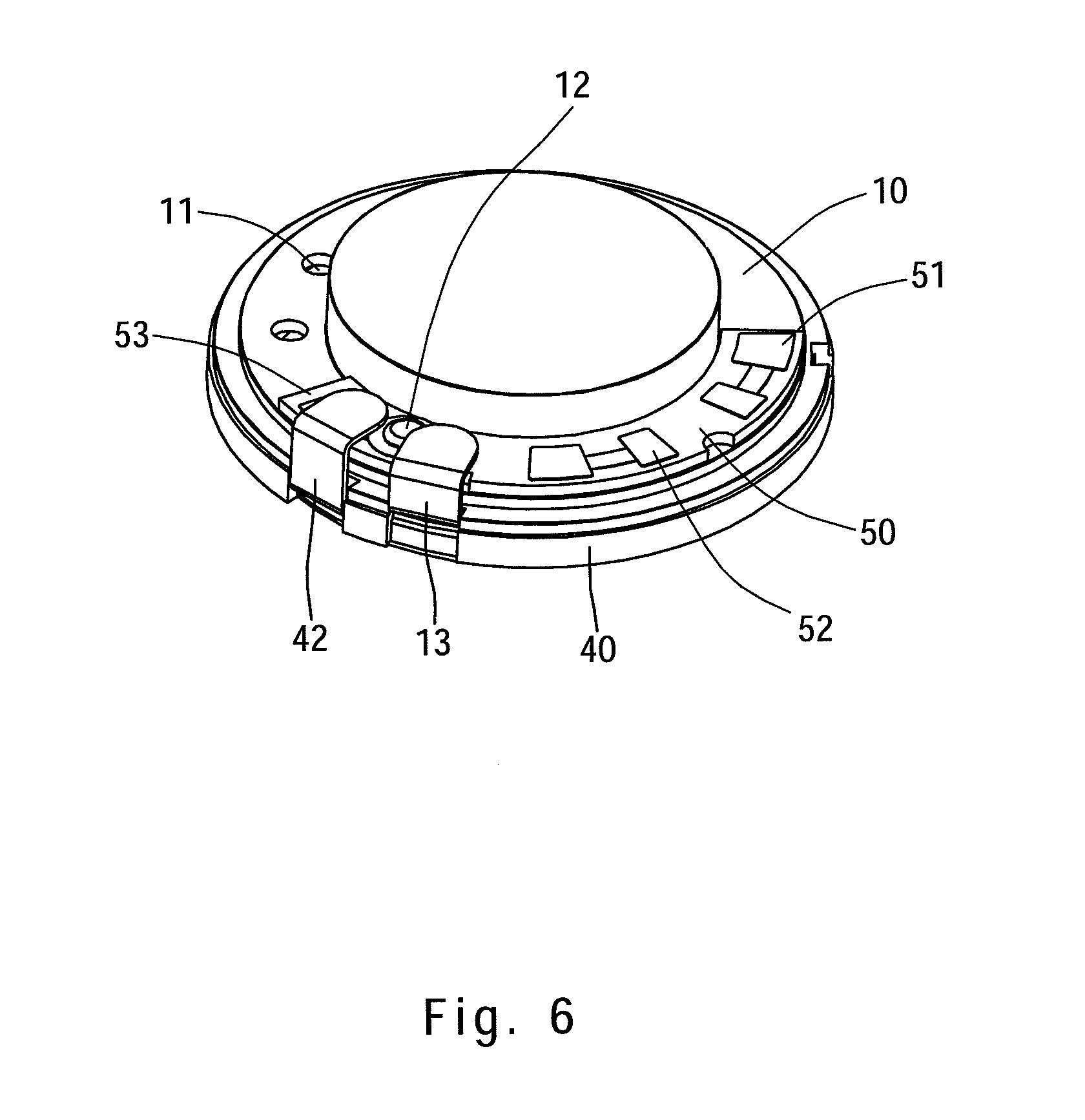 Patent US8467565.
