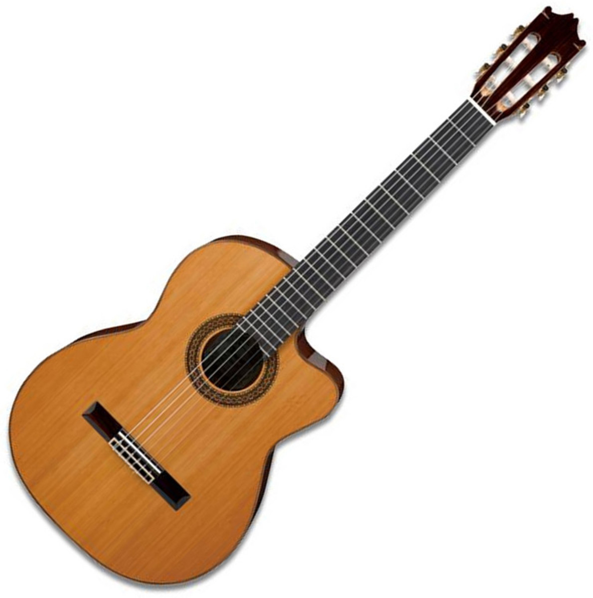 Ibanez G300 Classical Electro Acoustic Guitar, Natural at.