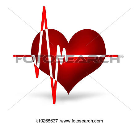 Stock Illustration of electrocardiogram k10265637.