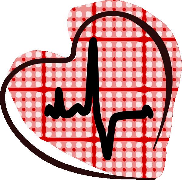 Electrocardiogram Heart Clip Art at Clker.com.