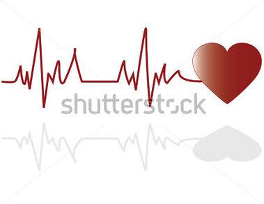 Electrocardiogram clipart.