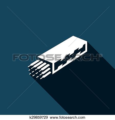 Clip Art of Welding electrodes pack k29859729.